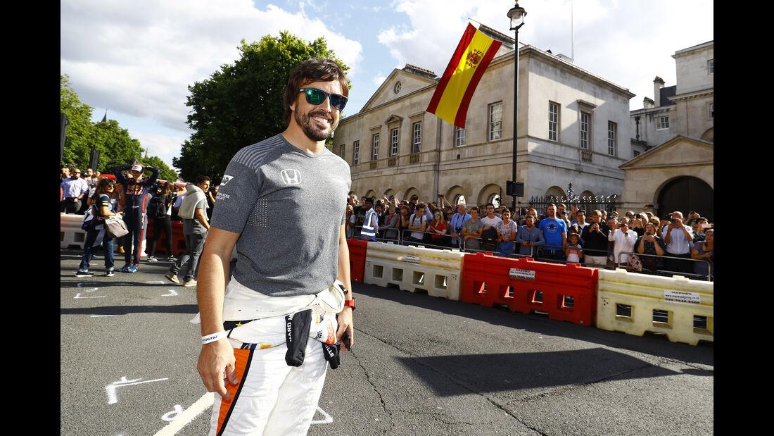 Fernando Alonso - F1 Live Show - London - 2017