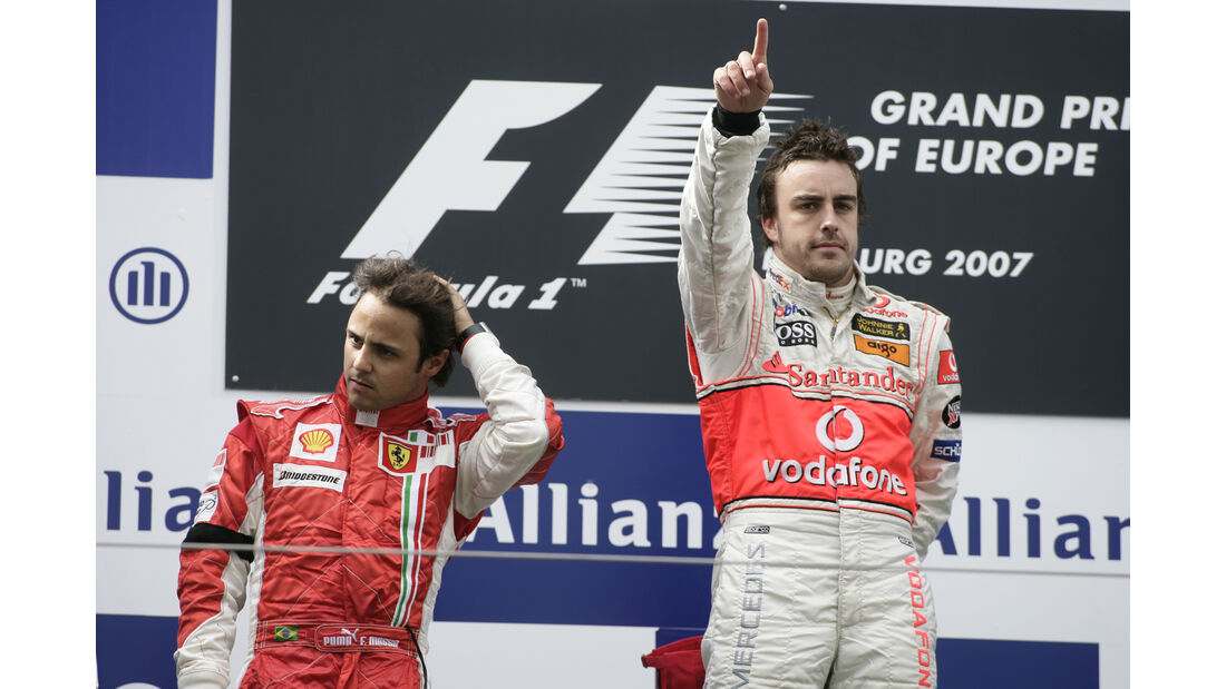 Fernando Alonso - F1 - Nürburgring - 2007