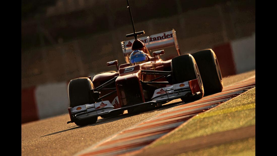 Fernando Alonso - F1-Test - Barcelona 2012