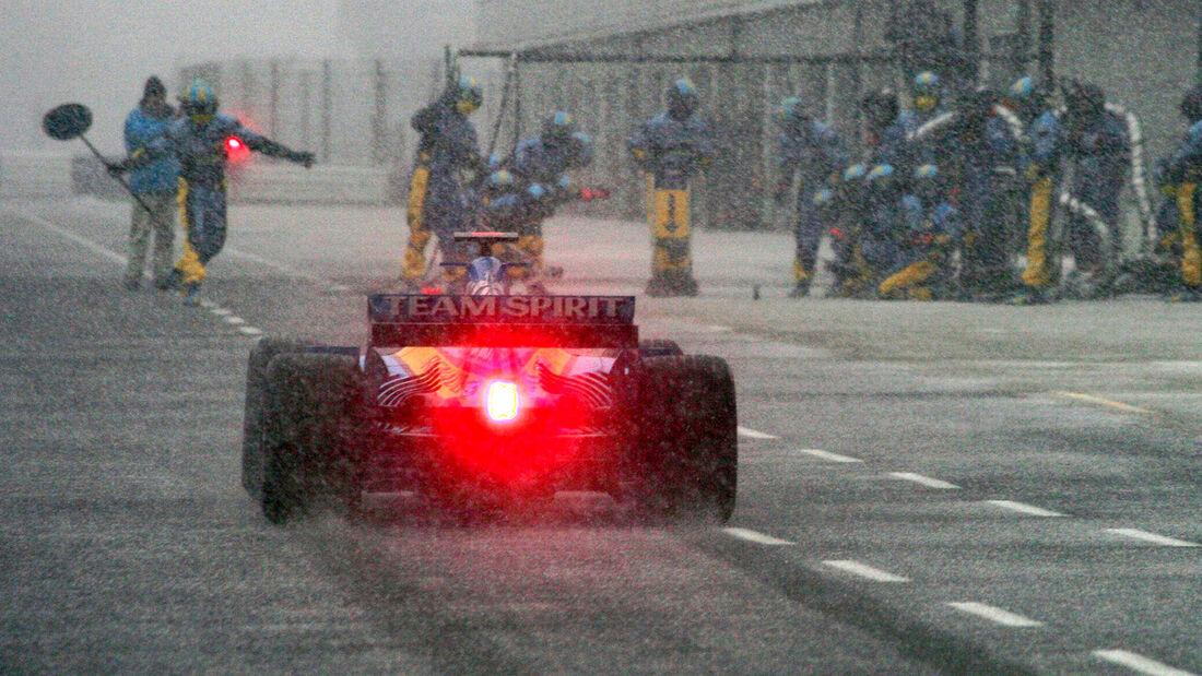 Fernando Alonso - F1-Test Silverstone - 2005