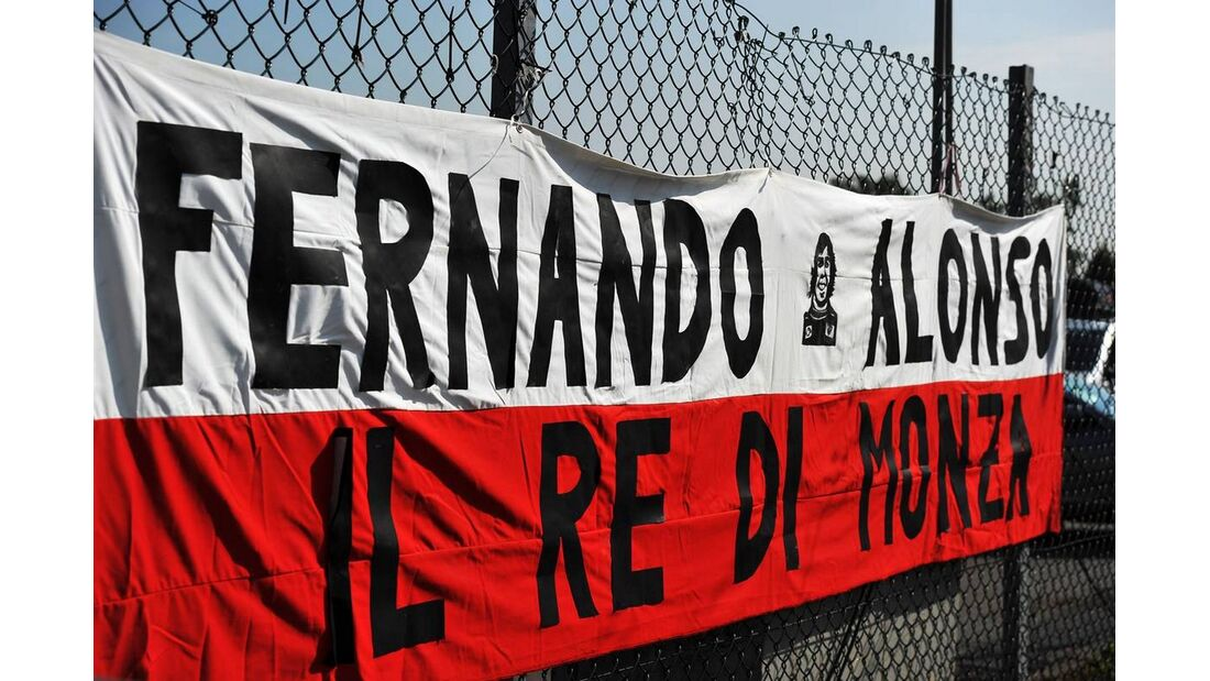 Fernando Alonso Fans - Formel 1 - GP Italien - 6. September 2012