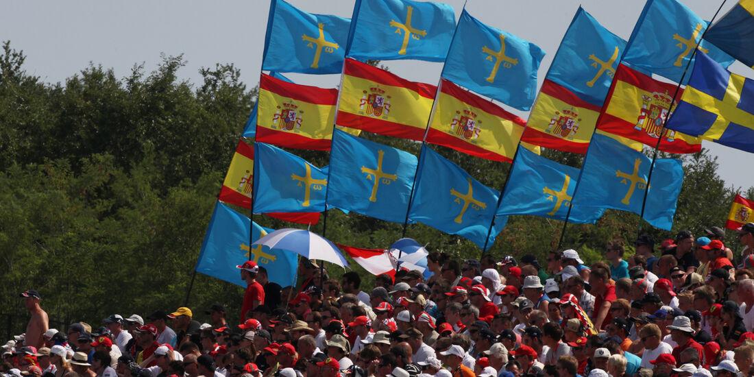 Fernando Alonso Fans GP Ungarn 2012