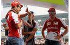 Fernando Alonso - Felipe Massa - Ferrari - Formel 1 - GP Indien - 27. Oktober 2013