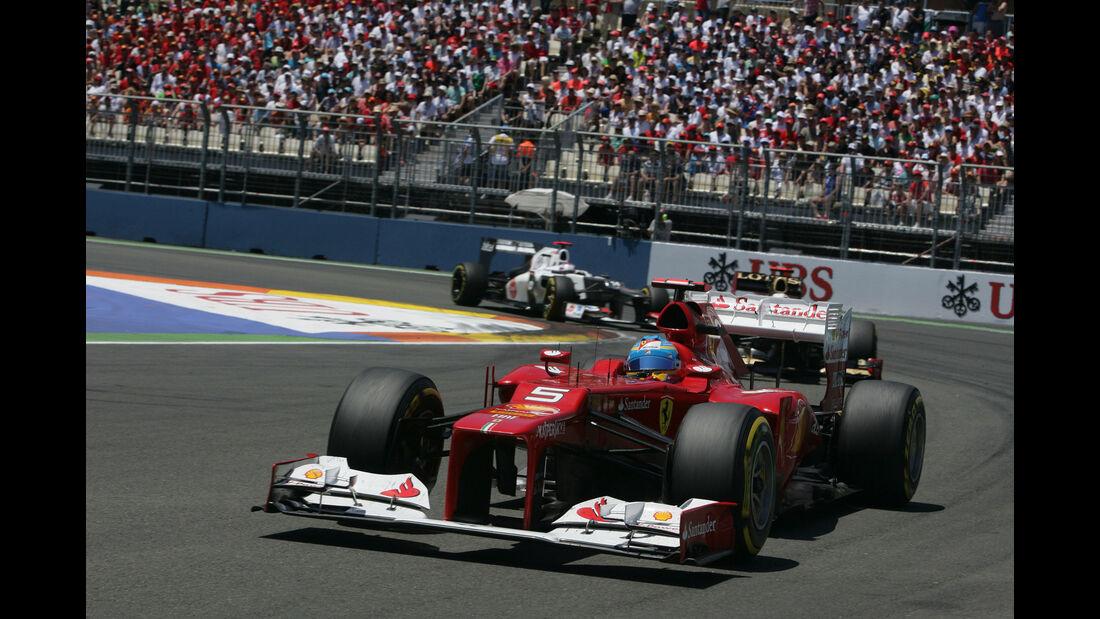 Fernando Alonso - Ferrari F2012 - GP Europa 2012