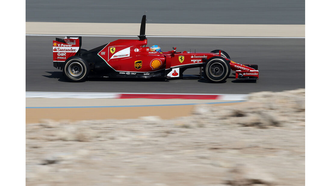 Fernando Alonso - Ferrari - Formel 1 - Bahrain - Test - 19. Februar 2014