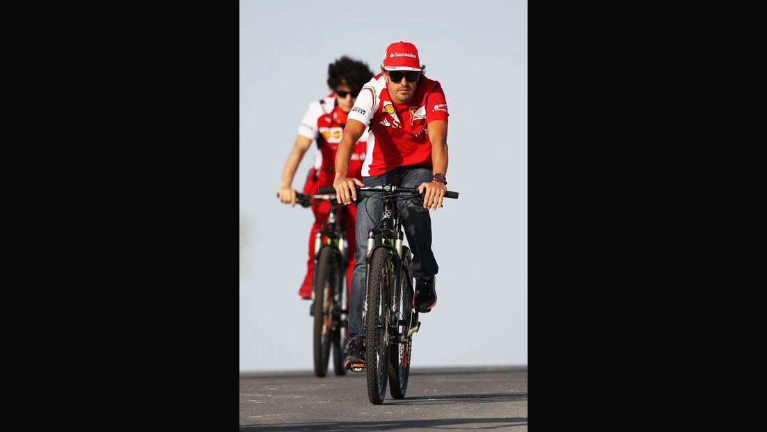 Fernando Alonso - Ferrari - Formel 1 - Bahrain-Test 2014
