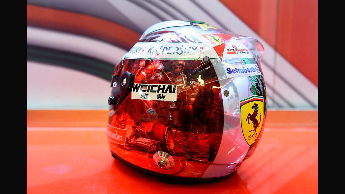 Fernando Alonso - Ferrari - Formel 1 - GP Abu Dhabi - 21. November 2014
