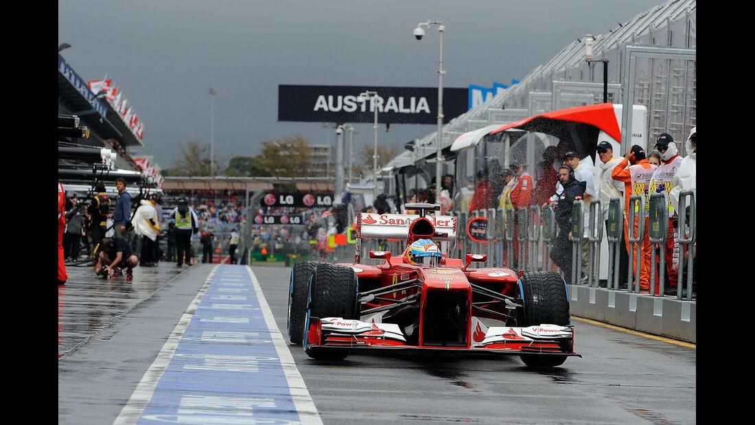 Fernando Alonso - Ferrari - Formel 1 - GP Australien - 16. März 2013