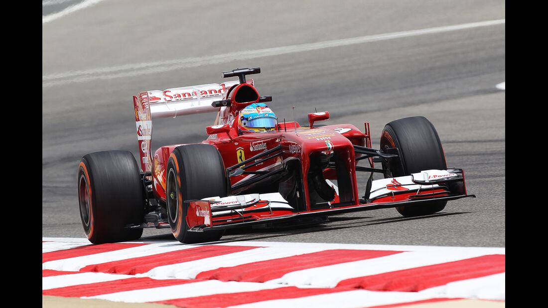Fernando Alonso - Ferrari - Formel 1 - GP Bahrain - 19. April 2013