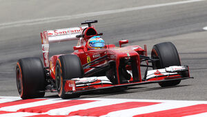 Fernando Alonso - Ferrari - Formel 1 - GP Bahrain - 19. April 2013