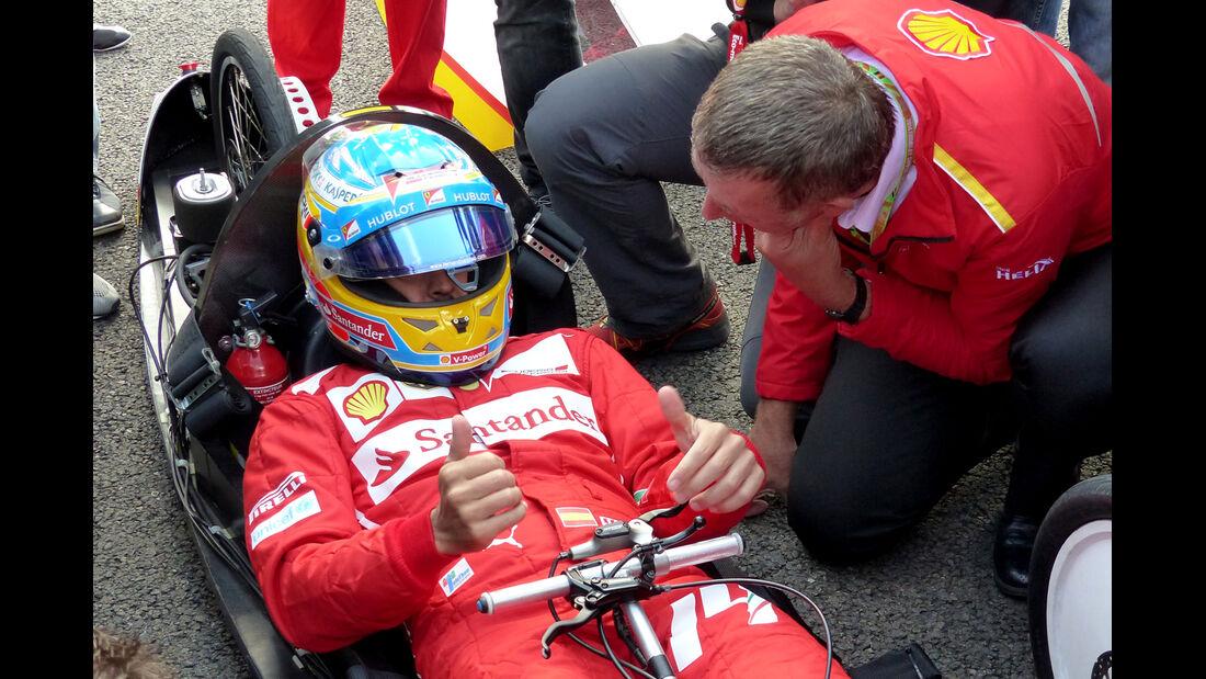 Fernando Alonso - Ferrari - Formel 1 - GP Belgien - Spa-Francorchamps - 21. August 2014