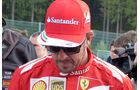 Fernando Alonso - Ferrari - Formel 1 - GP Belgien - Spa-Francorchamps - 21. August 2014