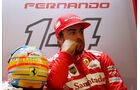 Fernando Alonso - Ferrari - Formel 1 - GP Belgien - Spa-Francorchamps - 22. August 2014