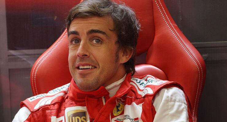 Fernando Alonso - Ferrari - Formel 1 - GP Belgien - Spa Francorchamps - 23. August 2013