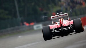 Fernando Alonso - Ferrari - Formel 1 - GP Belgien - Spa Francorchamps - 23. August 2013