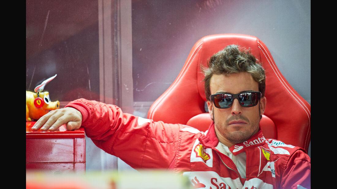 Fernando Alonso - Ferrari - Formel 1 - GP Brasilien - Sao Paulo - 23. November 2012