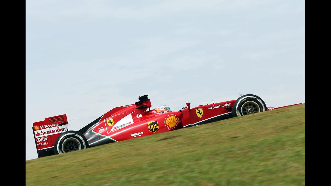 Fernando Alonso - Ferrari - Formel 1 - GP Brasilien - Sao Paulo - 7. November 2014