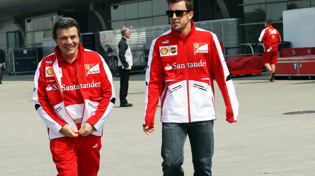 Fernando Alonso - Ferrari - Formel 1 - GP China - 11. April 2013