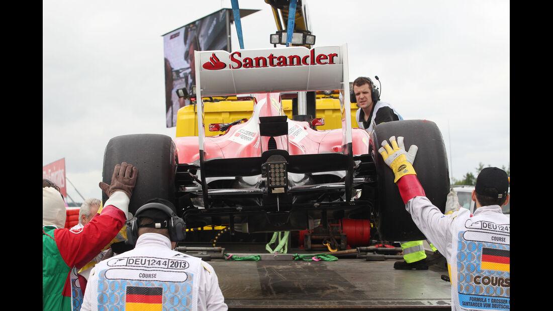 Fernando Alonso - Ferrari - Formel 1 - GP Deuschland - 5. Juli 2013