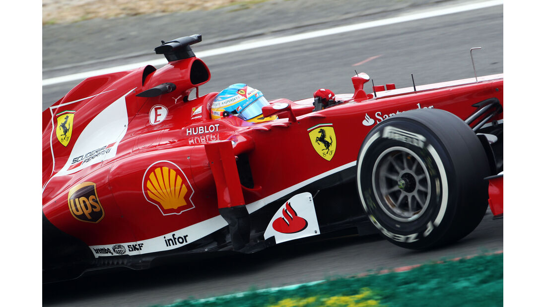 Fernando Alonso - Ferrari - Formel 1 - GP Deutschland - 6. Juli 2013