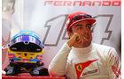 Fernando Alonso - Ferrari - Formel 1 - GP Deutschland - Hockenheim - 19. Juli 2014