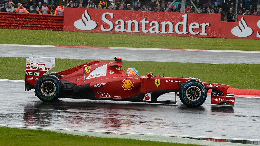Fernando Alonso - Ferrari - Formel 1 - GP England - Silverstone