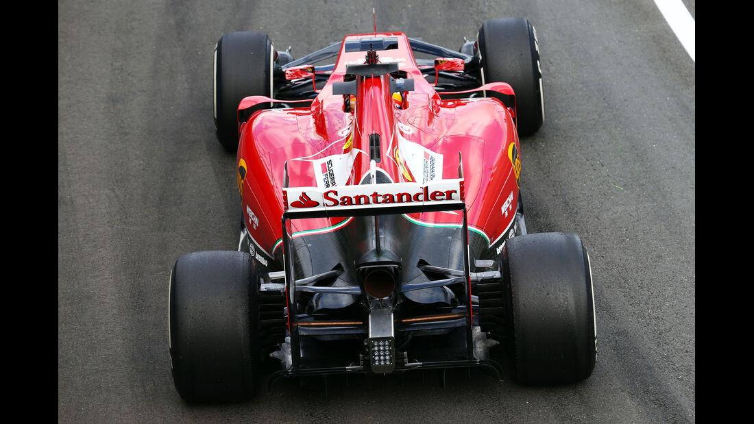 Fernando Alonso - Ferrari - Formel 1 - GP England - Silverstone - 4. Juli 2014