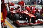 Fernando Alonso - Ferrari - Formel 1 - GP Indien - 25. Oktober 2013