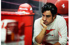 Fernando Alonso - Ferrari - Formel 1 - GP Indien - 26. Oktober 2013