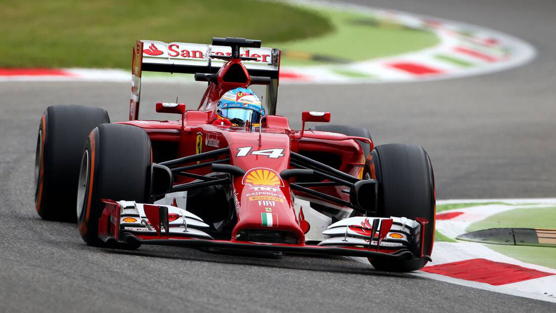 Fernando Alonso - Ferrari - Formel 1 - GP Italien - 5. September 2014