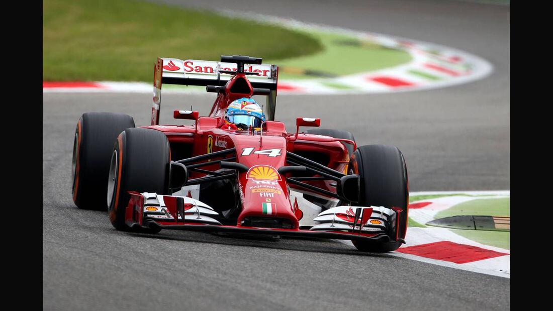 Fernando Alonso - Ferrari - Formel 1 - GP Italien - 5. September 2014