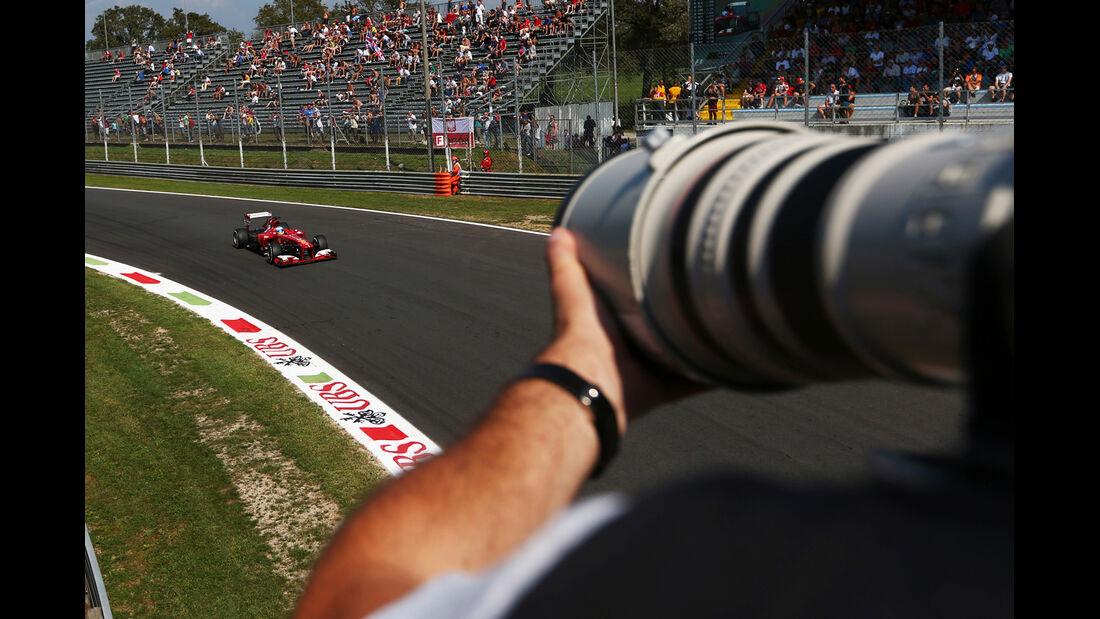 Fernando Alonso - Ferrari - Formel 1 - GP Italien - 6. September 2013