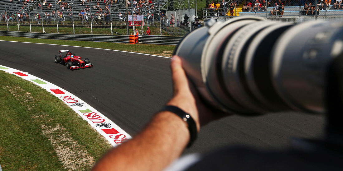 Fernando Alonso - Ferrari - Formel 1 - GP Italien - 6. September 2013