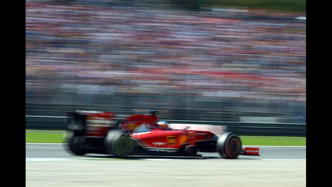 Fernando Alonso - Ferrari - Formel 1 - GP Italien - 6. September 2014