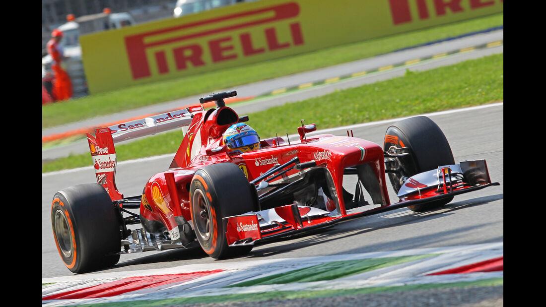 Fernando Alonso - Ferrari - Formel 1 - GP Italien - 7. September 2013