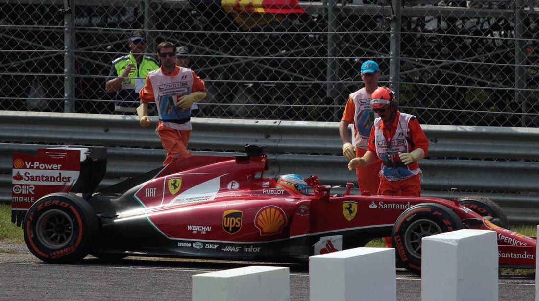 Fernando Alonso - Ferrari  - Formel 1 - GP Italien - 7. September 2014
