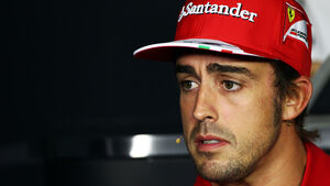 Fernando Alonso - Ferrari - Formel 1 - GP Italien - Monza - 5. September 2013