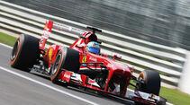 Fernando Alonso - Ferrari - Formel 1 - GP Italien - Monza - 6. September 2013