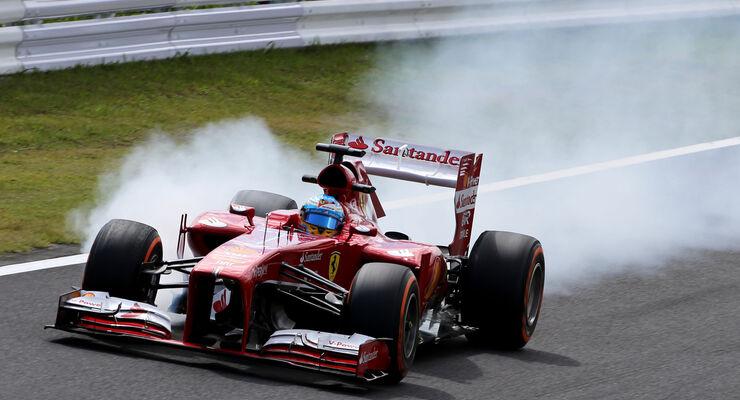 Fernando Alonso - Ferrari - Formel 1 - GP Japan 2013