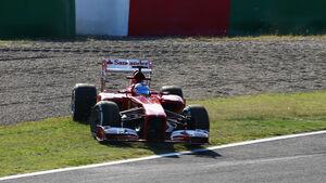 Fernando Alonso - Ferrari - Formel 1 - GP Japan - Suzuka - 11. Oktober 2013