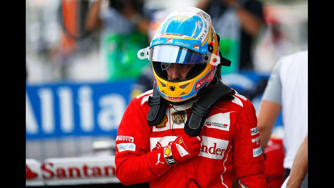 Fernando Alonso - Ferrari - Formel 1 - GP Japan - Suzuka - 4. Oktober 2014