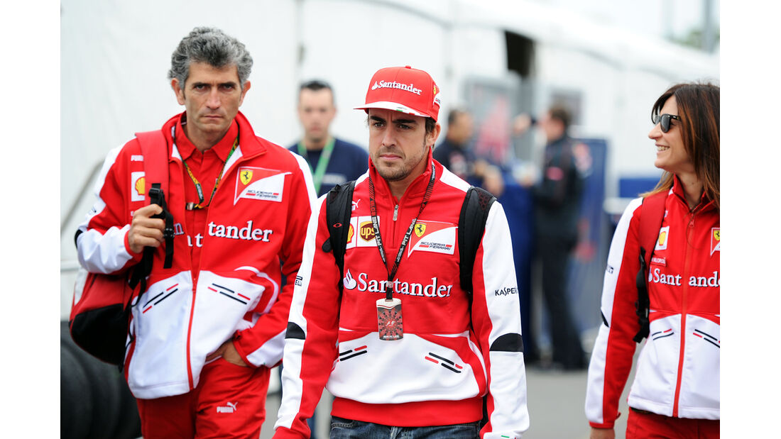Fernando Alonso - Ferrari - Formel 1 - GP Kanada - 6. Juni 2013