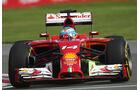 Fernando Alonso - Ferrari - Formel 1 - GP Kanada - Montreal - 6. Juni 2014