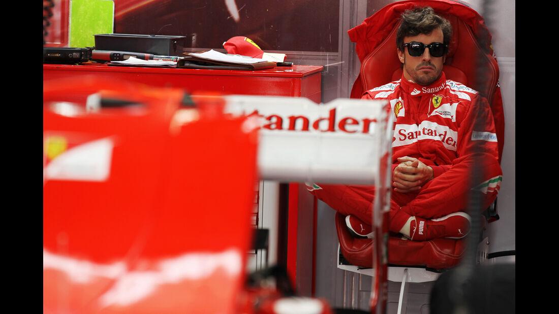 Fernando Alonso - Ferrari - Formel 1 - GP Korea - 12. Oktober 2012