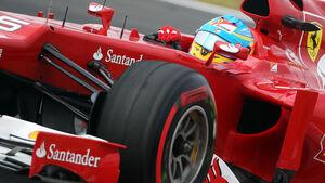 Fernando Alonso - Ferrari - Formel 1 - GP Korea - 13. Oktober 2012