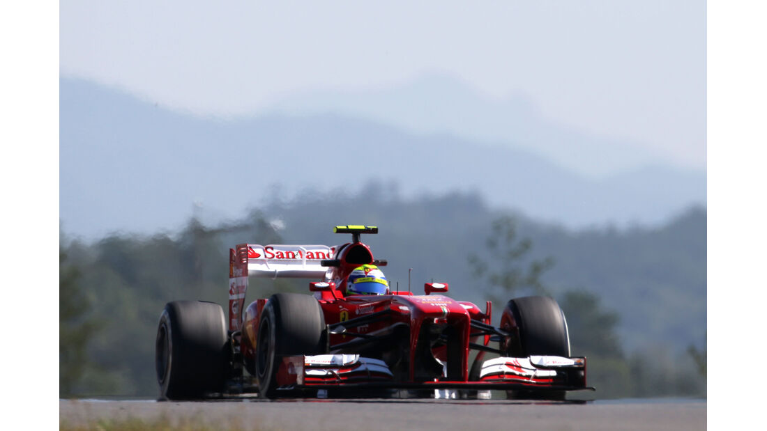Fernando Alonso - Ferrari - Formel 1 - GP Korea - 4. Oktober 2013