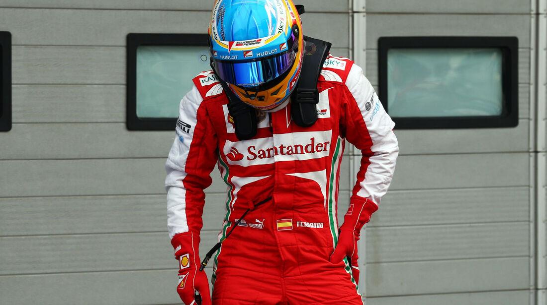 Fernando Alonso - Ferrari- Formel 1 - GP Korea - 5. Oktober 2013