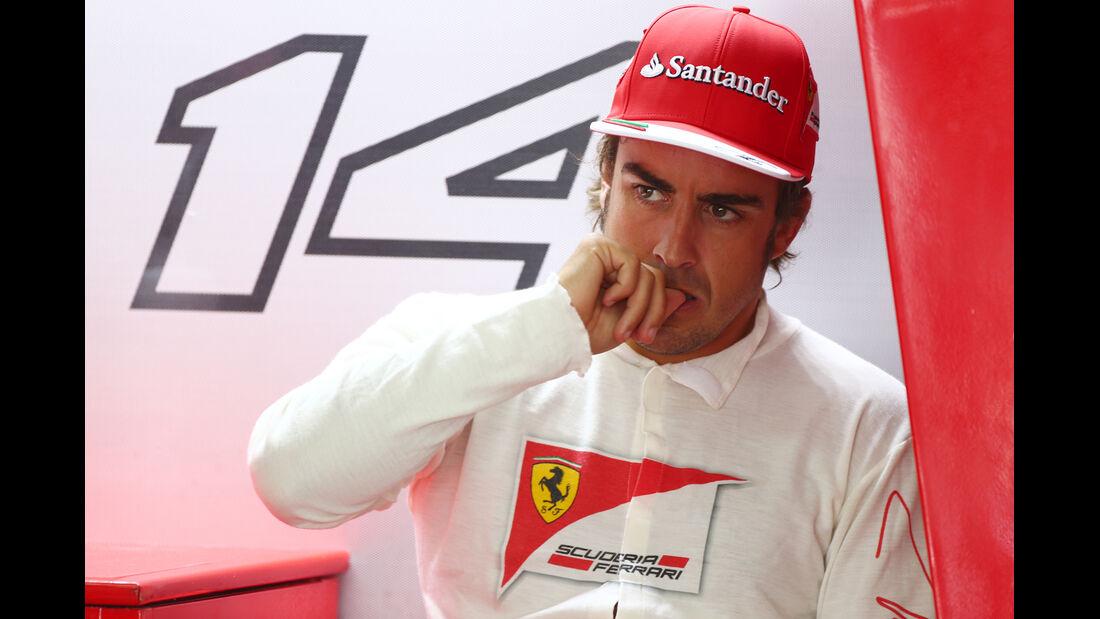 Fernando Alonso - Ferrari - Formel 1 - GP Malaysia - 28. März 2014