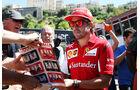 Fernando Alonso - Ferrari - Formel 1 - GP Monaco 2014
