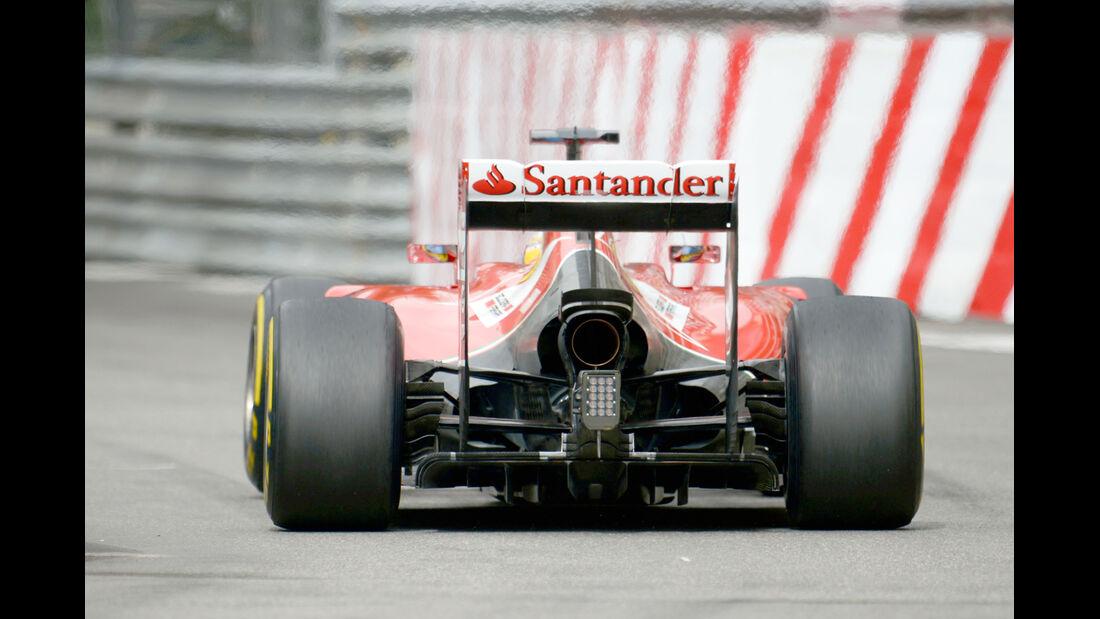 Fernando Alonso - Ferrari - Formel 1 - GP Monaco - 22. Mai 2014